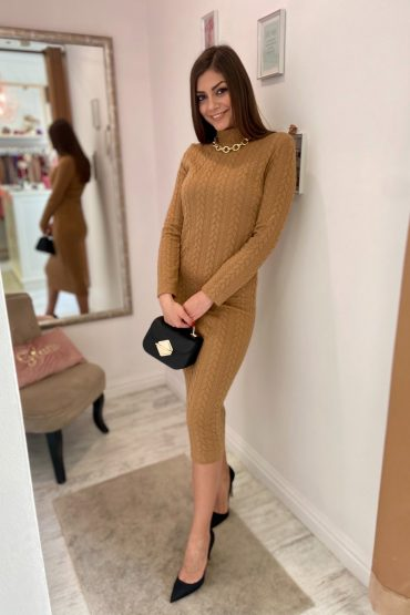 Knitted ruha - GlamBoutique
