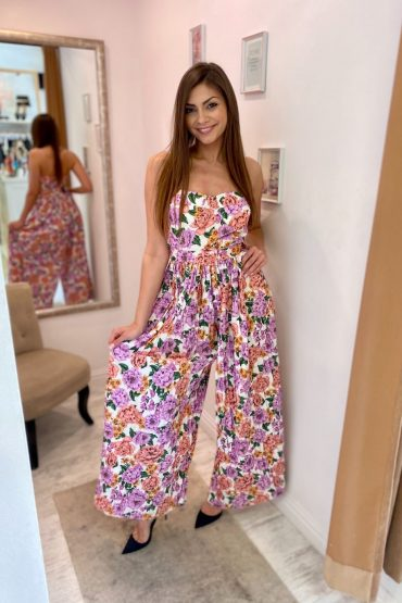 Flowery overál - GlamBoutique