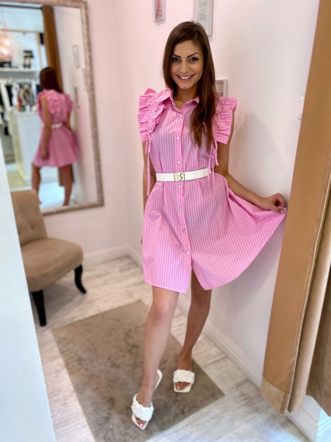 Pink baby ruha - GlamBoutique