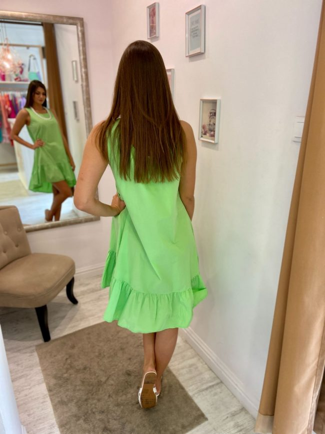 Lime ruha - GlamBoutique